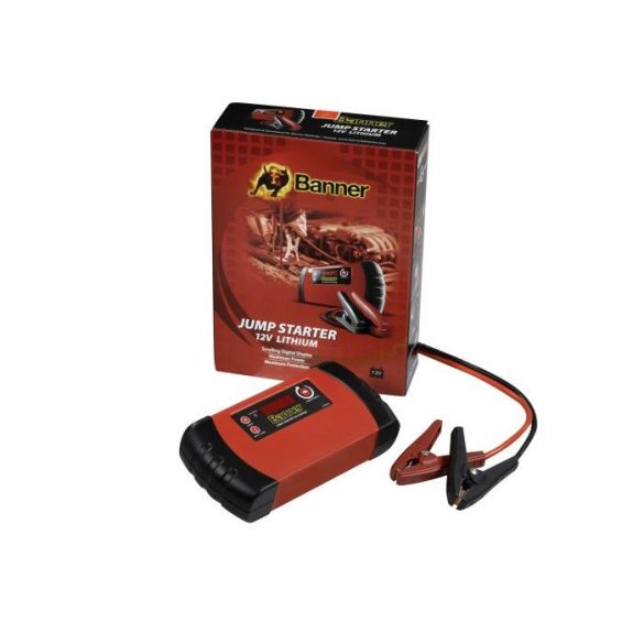 Banner Jump Starter Lítium 12 V indításrásegítő (bikázó)