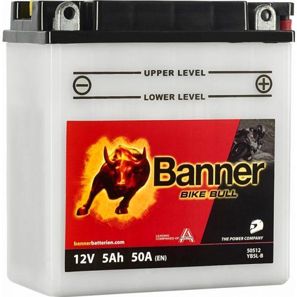 Banner Bike Bull YB5L-B 12V 5Ah jobb+