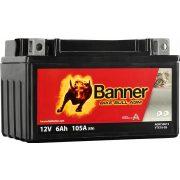 Banner Bike Bull YTX7A-BS 12V 6Ah bal+