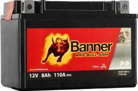 Banner Bike Bull YTX9-BS 12V 8Ah bal+