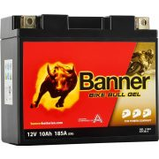 Banner Bike Bull Gel 12V 10Ah bal+ 180A GT12B-4