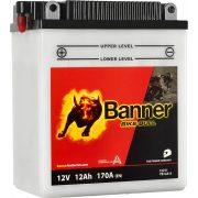 Banner Bike Bull YB12A-A 12V 12Ah bal+