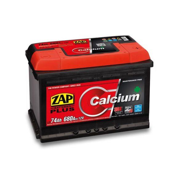 Zap Plus 12 V 74Ah 680A jobb+