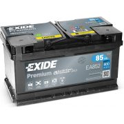Exide Premuim 12 V 85 Ah 800 A EA852 jobb +