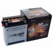 JP Moto YB12AL-A2 12 V 12 Ah motor akkumulátor jobb +