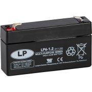 LP 6 V 1,2 Ah akkumulátor