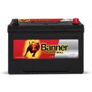 Banner  Power Bull 12 V 95 Ah 740 A jobb + P9504