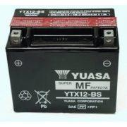 Yuasa YTX12-BS 12 V 10,5 Ah 180 A bal +