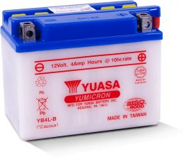 YUASA YB4L-B 12V 4 ,2 Ah jobb+