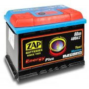 ZAP Energy Plus 12 V 60 Ah Jobb+