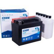 EXIDE YTX12-BS 12V 10Ah Jobb+