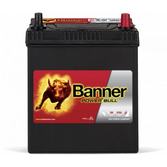 Banner Power Bull 12V 40 Ah 330A jobb+ P4026
