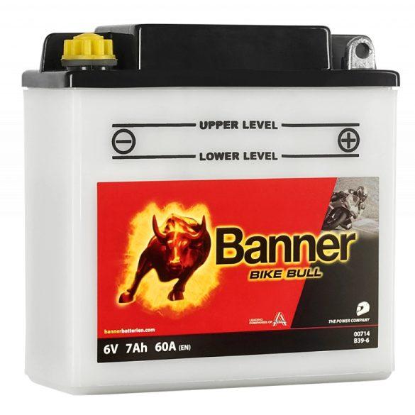 Banner Bike Bull 6 V 7 Ah B39-6 jobb +