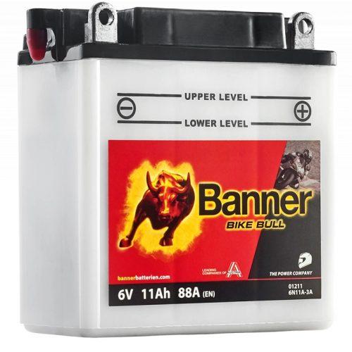 Banner Bike Bull 6 V 11 Ah 6N11A-3A