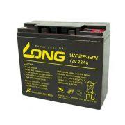 Long 12 V 22 Ah elektromos kerékpár akkumulátor