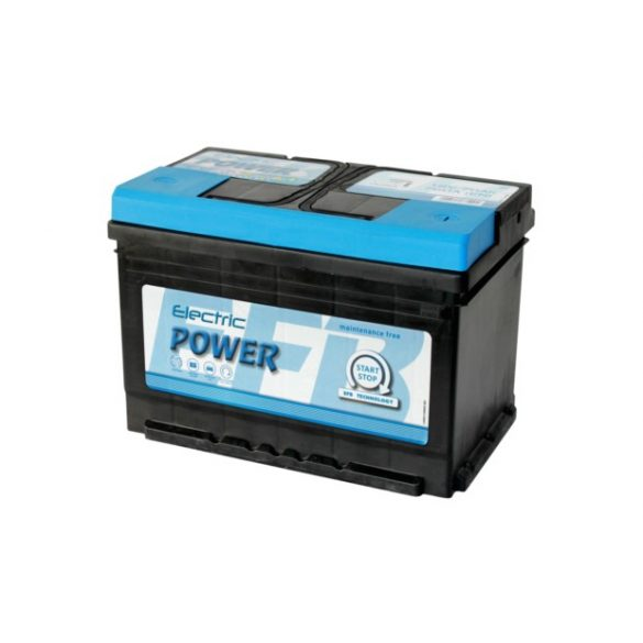 Electric Power EFB 12 V 70 Ah 760 A jobb +