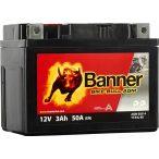 Banner Bike Bull YTX4L-BS 12V 3Ah jobb+