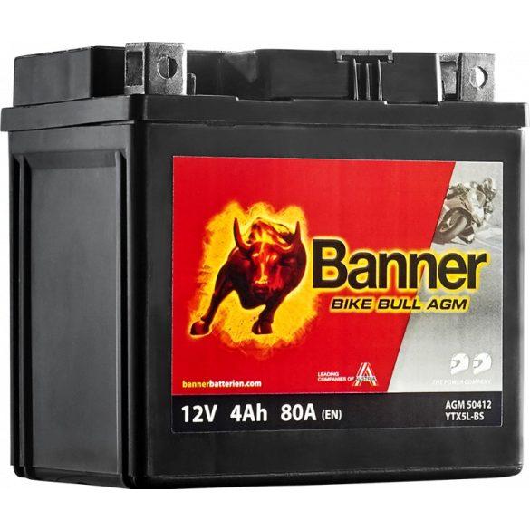 Banner Bike Bull YTX5L-BS 12V 4Ah jobb+