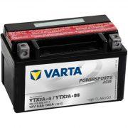 Varta - 12v 6ah - AGM motor akkumulátor - bal+ * YTX7A-BS