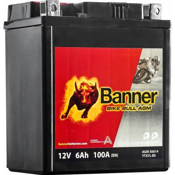 Banner Bike Bull YTX7L-BS 12V 6Ah jobb+