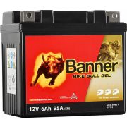 Banner Bike Bull Gel 12V 6Ah jobb+  (YTZ7S) GT7-3