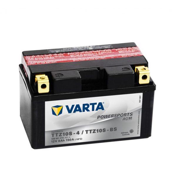 Varta - 12v 8ah - AGM motor akkumulátor - bal+ * YTZ10S-BS