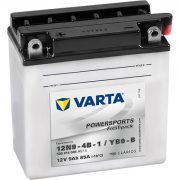 Varta - 12v 9ah - motor akkumulátor - bal+ *YB9-B