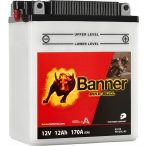 Banner Bike Bull YB12AL-A2 12V 12Ah jobb+