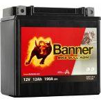 Banner Bike Bull YTX14-BS 12V 12Ah bal+