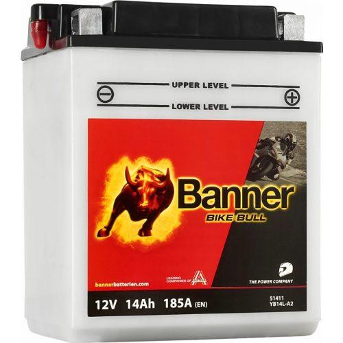 Banner Bike Bull YB14L-A2 12 V 14 Ah 185 A jobb +