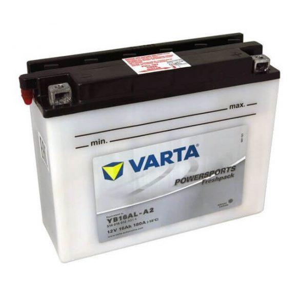 Varta Powersport YB16AL-A2 12V 16Ah 180A jobb+