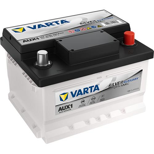 Varta - 12v 35ah - kiegészítő akkumulátor - jobb+ *AUX1