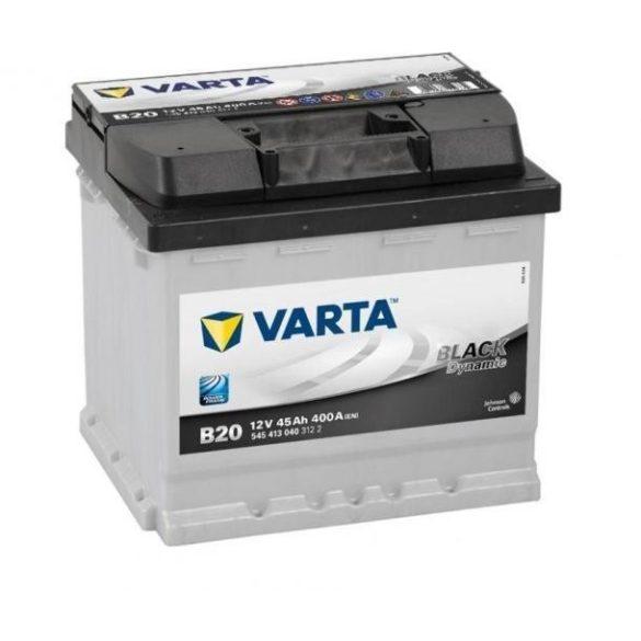 Varta Black Dynamic 12 V 45 Ah 400 A bal +