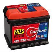 Zap Plus 12 V 45 Ah 370 A jobb + akkumulátor