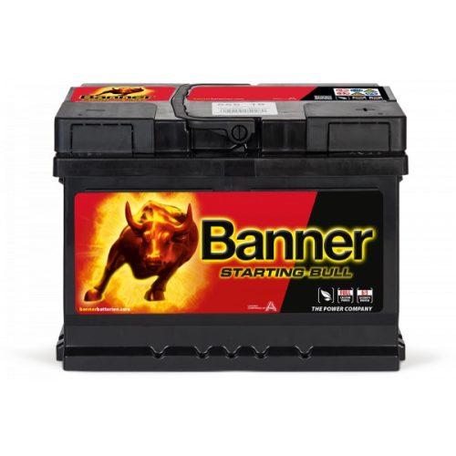 Banner Starting Bull 55519 12V 55 Ah 450A jobb+