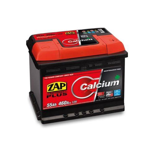 Zap Plus 12 V 55 Ah 460 A jobb+