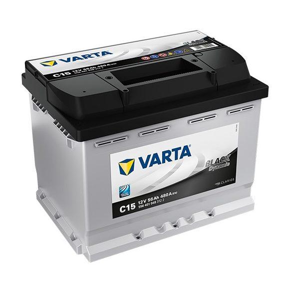 Varta Black Dynamic 12 V 56 Ah 480 A bal +