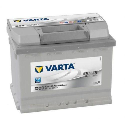 Varta Silver Dynamic 12 v 63 Ah 610 A bal+