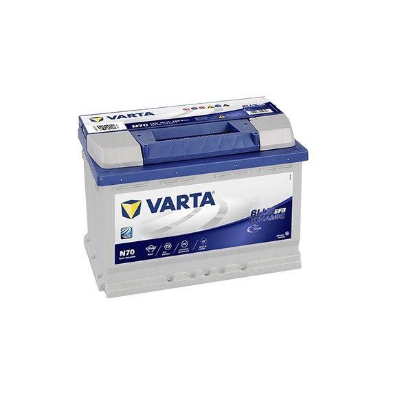 Varta Blue Dynamic EFB 12 V 70 Ah 760 A jobb +