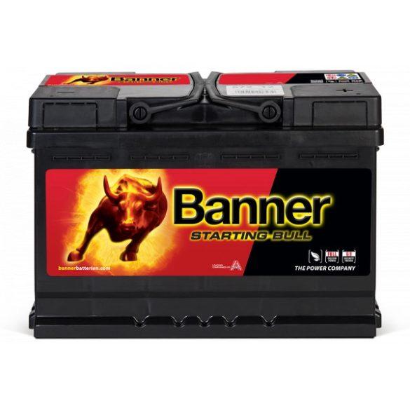 Banner Starting Bull 12 V 72 Ah 650 A jobb +