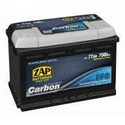 ZAP Graphite EFB autó akkumulátor 12 V 77 Ah 750 A jobb +