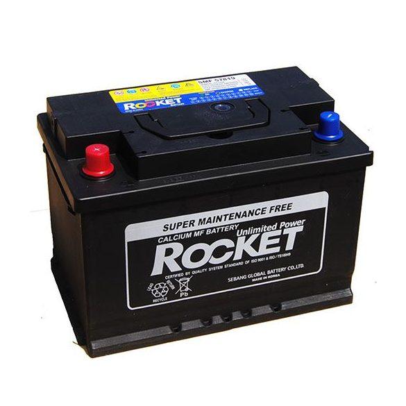 Rocket 12 V 78 Ah 660 A bal +