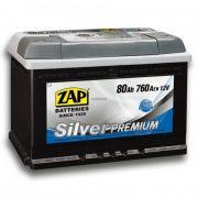 ZAP Premium 12 V 80 Ah 760A jobb+