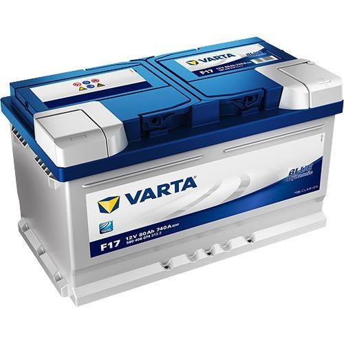 Varta Blue Dynamic 12 V 80 Ah 740 A jobb+