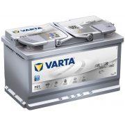 Varta Silver Dynamic AGM 12 V 80 Ah 800 A jobb + F21