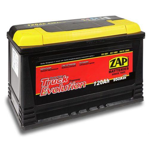 ZAP Truck 12 V 120 Ah 950 A jobb + IVECO