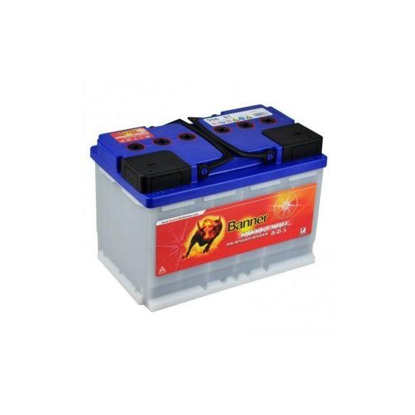 Banner Energy Bull  munka akkumulátor 12 V 80 Ah Jobb+
