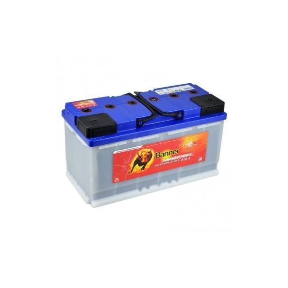 Banner Energy Bull munka akkumulátor 12 V 100 Ah Jobb+