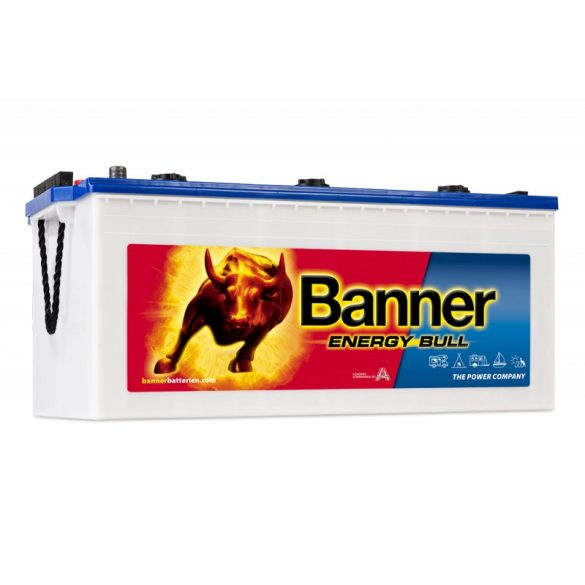 Banner Energy Bull munka akkumulátor 12 V 230 Ah Bal+