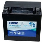 EXIDE Ready 12-12  (YTX14-BS) 12V 12Ah bal +